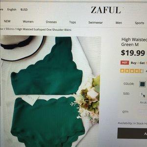 Zaful swim TOP